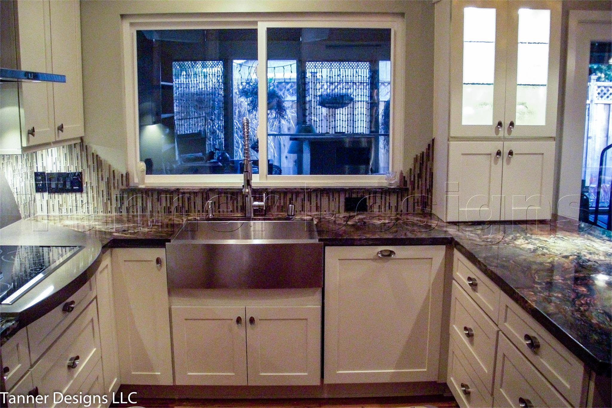 Countertops Granite Wooden Kitchen Furniture